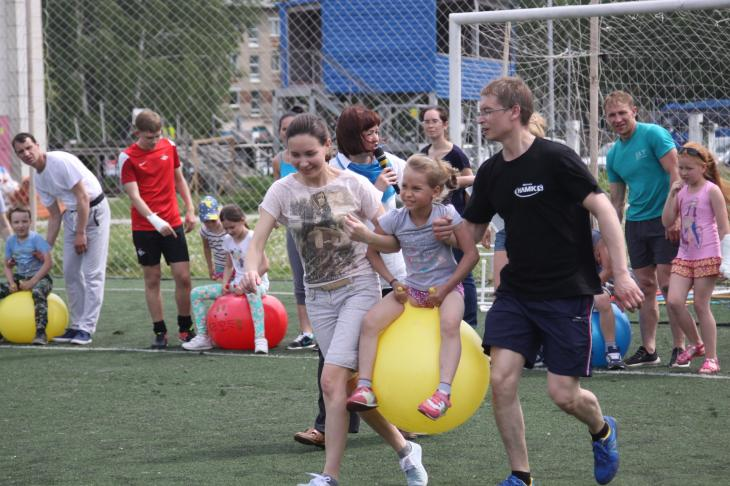 NLMK Metalware's sports festival